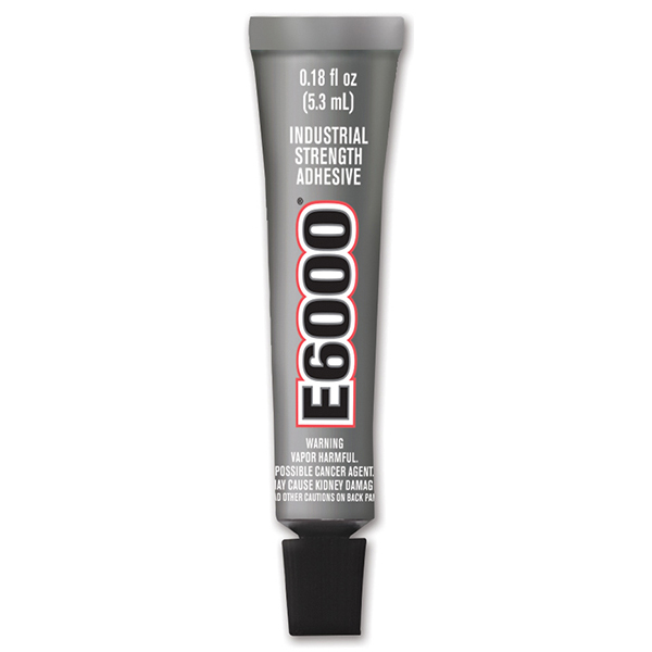 E-6000 Industrial Strength Adhesive .018oz - Small Tube