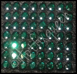 6SS EMERALD Hot Fix Rhinestones