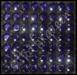 10SS COBALT Hot Fix Rhinestones - LOW LEAD