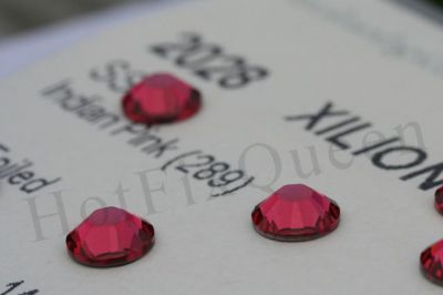 7ss INDIAN PINK - Swarovski Elements FLATBACK 144pcs