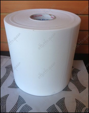 "Acrylic Rhinestone Hot Fix Transfer Tape FULL ROLL 12.60"" x 328 feet"