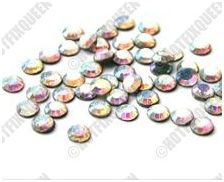 10SS CRYSTAL AB Hot Fix Rhinestones