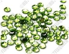 6SS PERIDOT Hot Fix Rhinestones