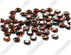 6SS SMOKED TOPAZ Hot Fix Rhinestones