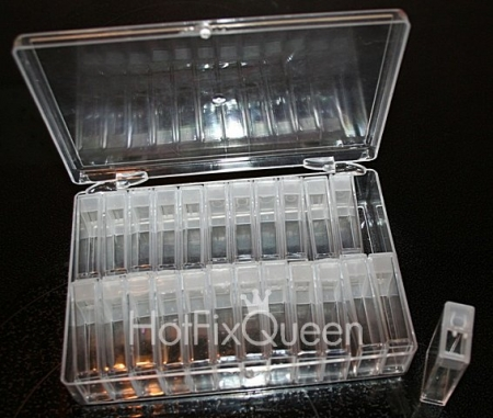 Clear Storage Case w/24 Tic Tac Tubes
