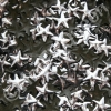 10mm Silver HotFix Star Nailheads 144pcs