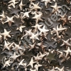 10mm Gold HotFix Star Nailheads 144pcs